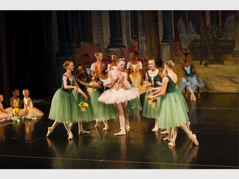 Russian School of Ballet performance